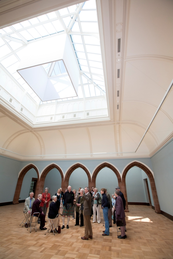 The newly renovated Portrait Gallery